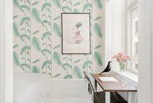 MEER interieur - Wallpaper / Interior design wallpaper