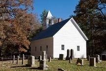 Churches, Cemetaries, Ghost Towns / by Linn Cich-Jones
