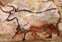 Prehistoric Cave Paintings / by MKGraph Art
