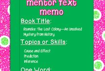 Mentor texts. / by Amy Shaw