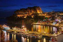 Night views of Greece