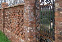 Bricks of garden