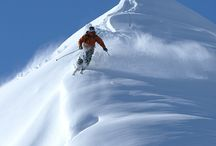 *skiing*