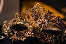 Masquerade Ball / Bring an air of mystery to your next event. Invite guests to enjoy the splendor while revealing only their eyes. Unique masks make for an elegantly dramatic crowd.