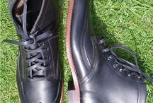 Handmade Footwear For Men / Footwear For Men. Handmade Wolverine 1000 mile Boots and Thorocraft Wingtips and brogues. Made in America and brought  to you by Muazo.co.uk