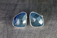 Cufflinks - With Gemstones / Handmade Cufflinks by Huiyi Tan