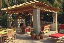 "decks, patios, and porches / The outdoor ""room"" / by Suzie Berger"