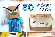 50 Cardboard Toys