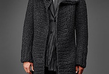 Knitted mens jackets