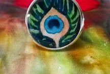 MONADI Jewels / Handpainted jewels