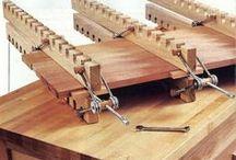prensas  de madera