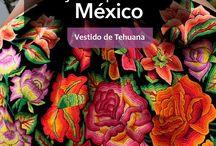 Vestidos de Tehuana