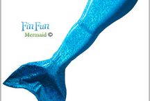 Kennedy's really want thing for Christmas. FIN FUN MERMAID TAIL
