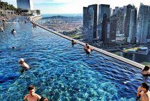 Marina Bay Sands Resort - giugno 2013 / La piscina più alta del mondo