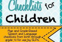 Work - checklists