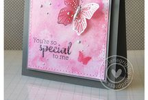 Butterfly cards & techniques / by Georgia Wails