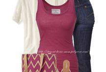 basicos en violetas y bordo / ropa  en tonos violeta