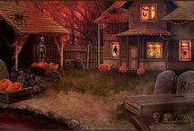 Town Scenes