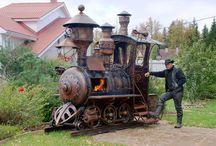 steampunk trains
