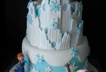 FROZEN Cakes and Decor  / Clure's 9th birthday party