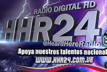 RADIO DIGITAL HHR24 / RADIO DIGITAL EN APOYO A NUESTROS TALENTOS NACIONALES  www.hhr24.com.ve