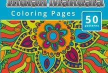 A Coloring Books - Markers