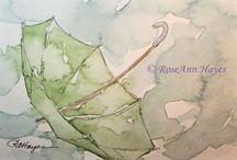 Watercolor wonderful / Watercolor I love...