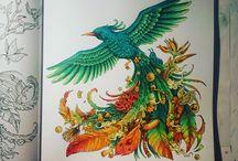Pássaro Doodle