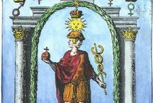 Alchemical and hermetic emblems