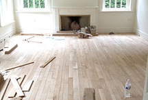 Solid Strip Flooring / Some examples of solid French oak strip floors we supplied and installed.