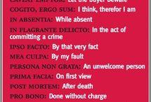 Latin Phrases