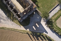 Tuscany aerial photography