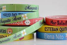 ETIQUETAS PARA ROPA / Etiquetas para ropa, etiquetas para coser, Etiquetas bordadas, etiquetas personalizadas con tu logo...  Todo personalizado a tu gusto para toda la familia.