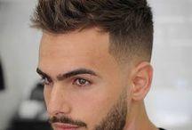 peinados hombres