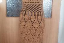 Moje háčkované šaty / háčkování a pletení