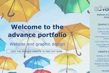 advance website and graphic design portfolio / See just some of the website and graphic design work advance has undertaken.