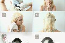 Rambut pirang platinum