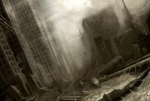 Apocalyptic / Apocalyptic and post-apocalyptic art. What happens at the end of the world and beyond?