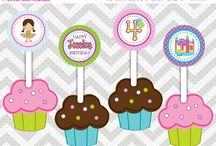 Cupcake Toppers 2