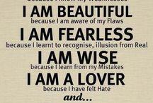 C.  Quotes / Positive quotes