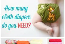 Pañales ecologicos (Cloth diapers)