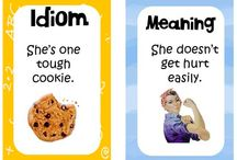 Bits & Bobs / Idioms are words, phrases, or expressions that cannot be taken literally. This board is dedicated to English idioms.