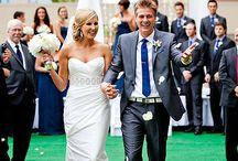 Bridesmaid and groomsman attire