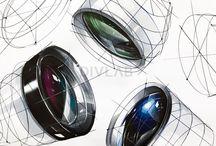 Скетч предметы и промышленный дизайн_Sketching objects and industrial design.