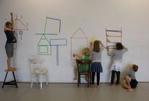 Art-education/WIELS / Working with the WIELS-children, contemporary art centre WIELS, Brussels