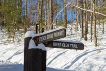 Winter at FBC / Check out how great French Broad Crossing looks in the snow!