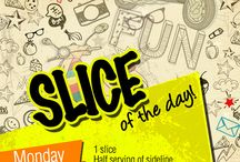 Slice of the Day! / We've started Slice of the Day!Click on the link below to order online: http://www.14thstreetpizza.com/orderonline/deals-slice-of-the-day Only for Rs. 400! :D