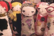 Dolls / by Dawn van den Hoek