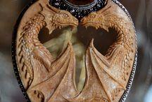 Jewelry: dragons