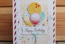 All things BALLOONS! / Includes Balloon Bouquet punch / Balloon celebrations & Balloon builders stamp sets
